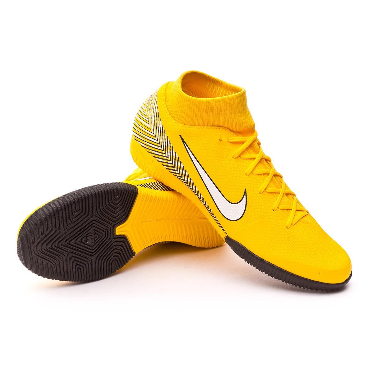 f4524464c Futsal Boot Nike Mercurial SuperflyX VI Academy IC Neymar Yellow-Black -  Football store Fútbol Emotion