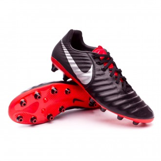 Bota  Nike Tiempo Legend VII Pro AG-Pro Black-Metallic silver-Light crimson