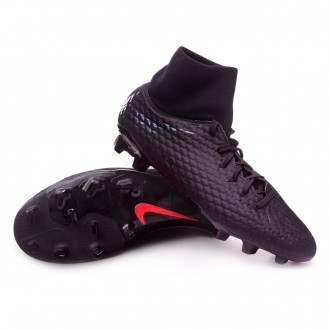 Bota  Nike Hypervenom Phantom III Academy DF FG Black