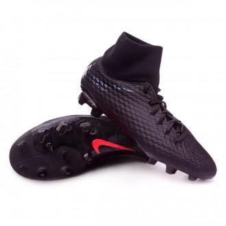 Chaussure de foot  Nike Hypervenom Phantom III Academy DF FG Black