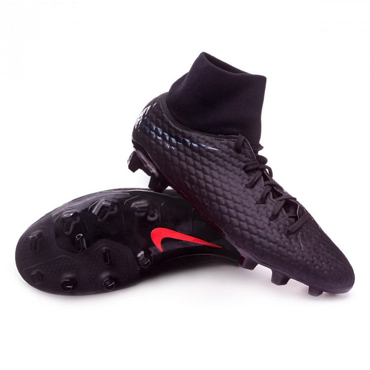 Boot Nike Hypervenom Phantom III Academy DF FG Black - Football ... 8cb486a0f54db