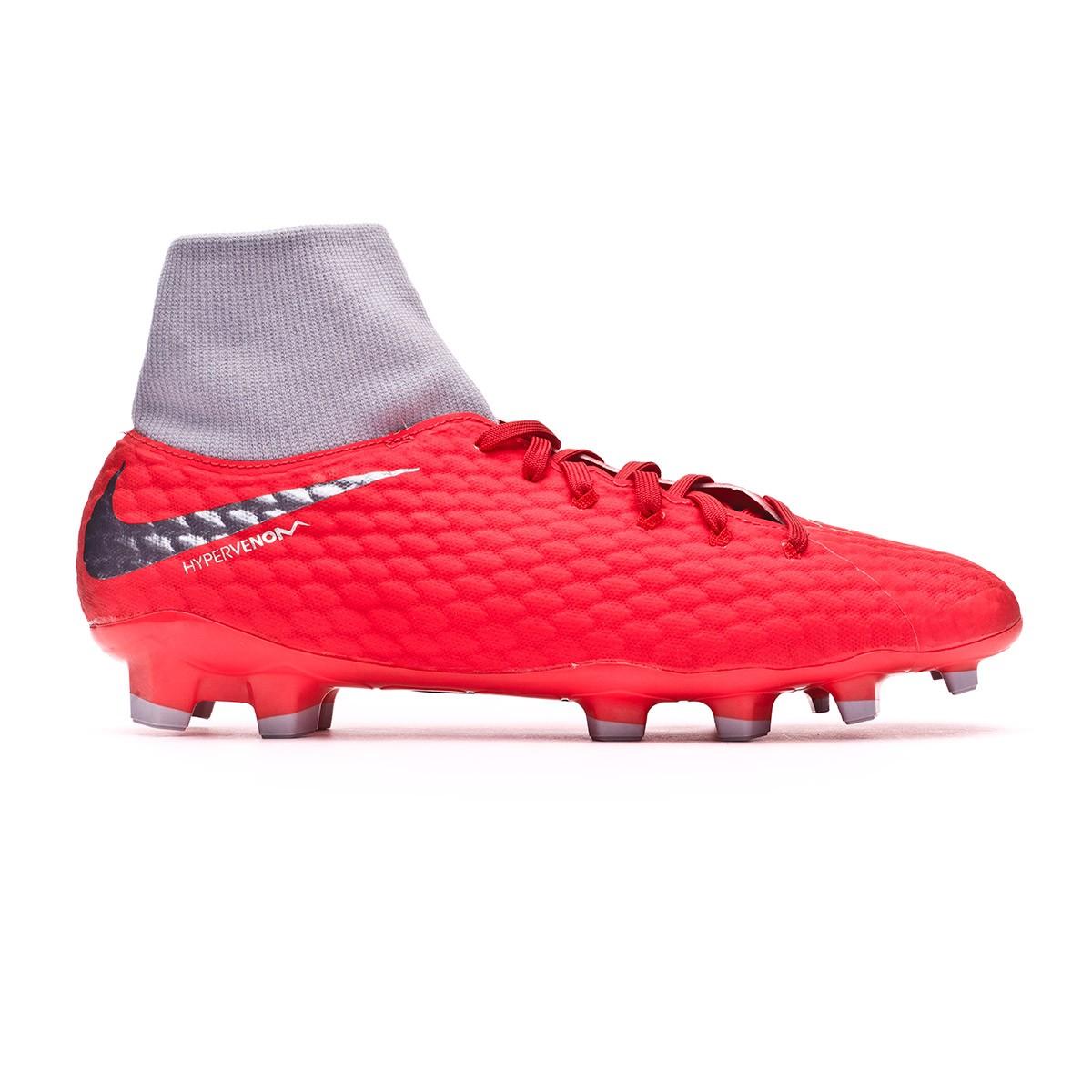 Chuteira Nike Hypervenom Phantom III Academy DF FG Light crimson-Metallic  dark grey-Wolf grey - Loja de futebol Fútbol Emotion d4e2772734a43