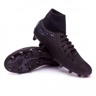Chaussure de foot  Nike Hypervenom Phantom III Academy DF AG-Pro Black