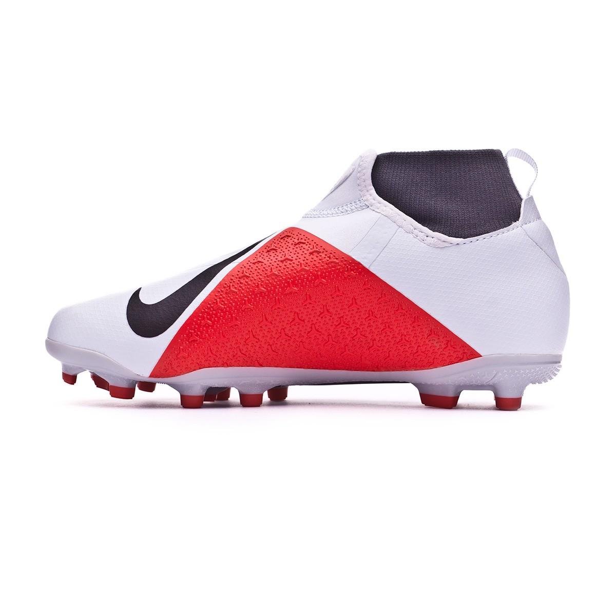 best website 0589a b272d Football Boots Nike Kids Phantom Vision Academy DF MG Pure platinum-Black-Light  crimson-Dark grey - Tienda de fútbol Fútbol Emotion