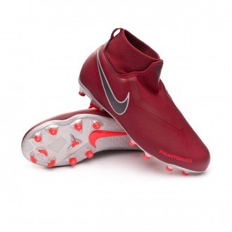Chuteira  Nike Phantom Vision Academy DF MG Crianças Team red-Metallic dark grey-Bright crimson