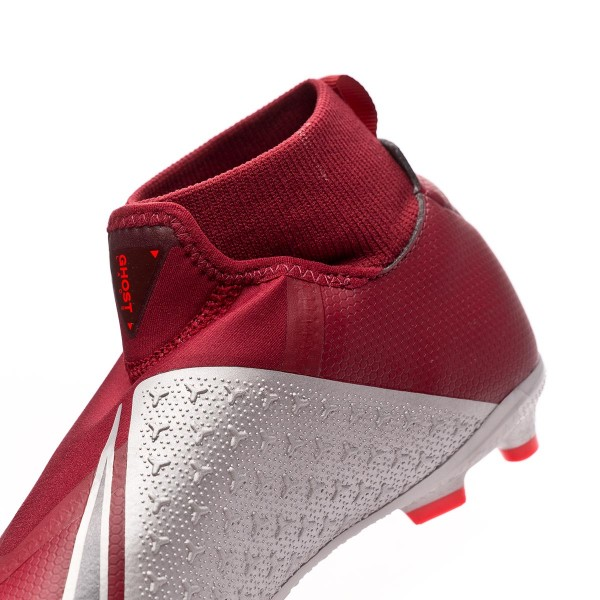 Scarpe calcio Nike Nike calcio Phantom Vision Academy DF MG Junior Team rosso   3aba3a