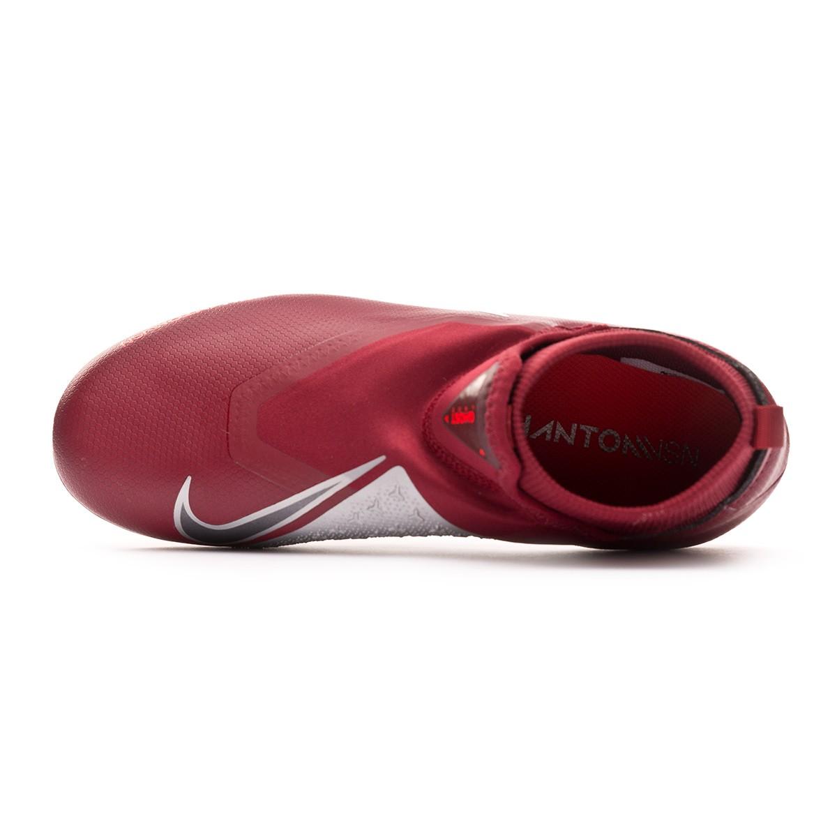 7c566c2bdd5de Football Boots Nike Kids Phantom Vision Academy DF MG Team red-Metallic  dark grey-Bright crimson - Tienda de fútbol Fútbol Emotion