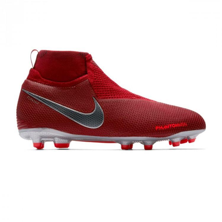 87009e484e8be Football Boots Nike Kids Phantom Vision Elite DF MG Team red ...