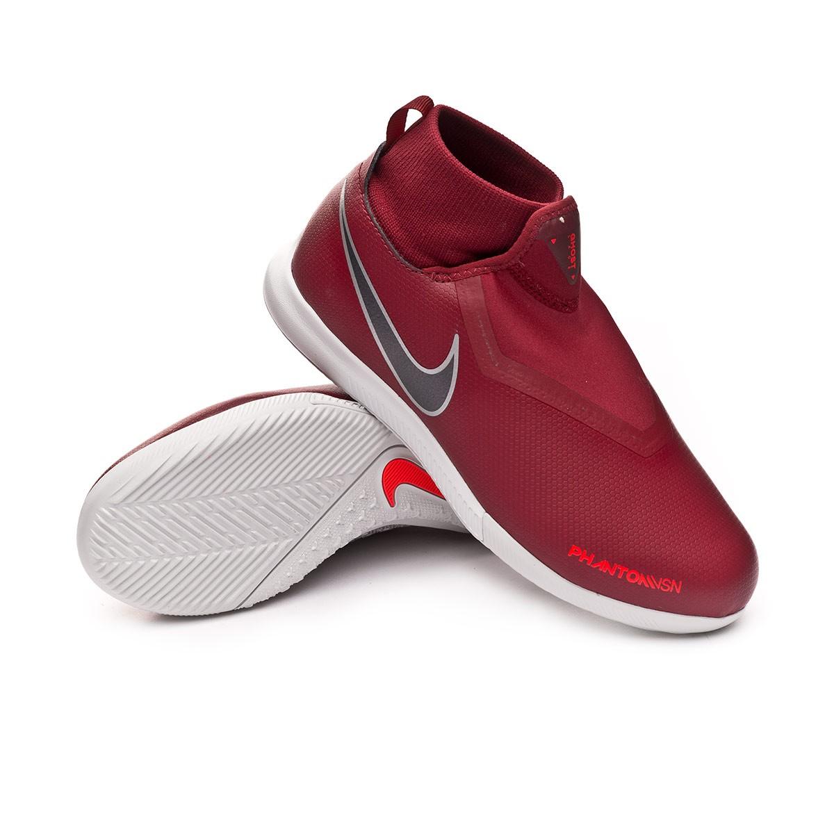 3d918672255f8 Futsal Boot Nike Kids Phantom Vision Academy DF IC Team red-Metallic ...