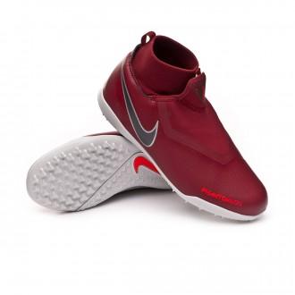 Sapatilhas  Nike Phantom Vision Academy DF Turf Crianças Team red-Metallic dark grey-Bright crimson