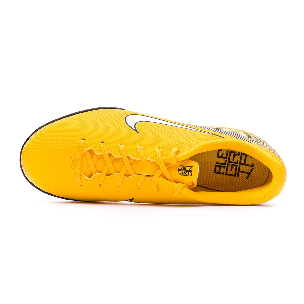 f8ff827e664 Zapatilla Nike Mercurial VaporX XII Academy IC Neymar Niño Yellow-Black -  Tienda de fútbol Fútbol Emotion