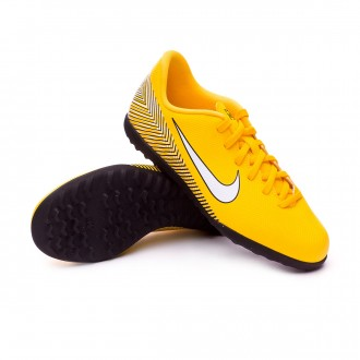 Zapatilla  Nike Mercurial VaporX XII Club Turf Neymar Niño Yellow-Black