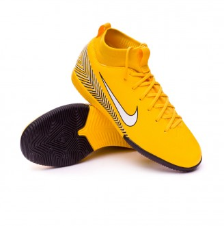 Chaussure de futsal  Nike Mercurial SuperflyX VI Academy IC Neymar enfant Yellow-Black