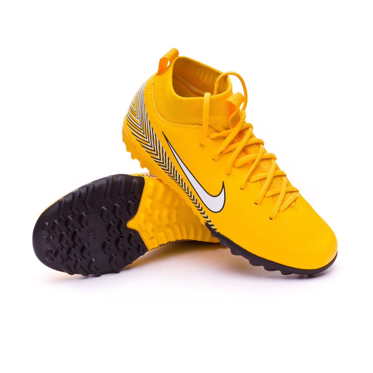 newest 88049 12777 ... shoes green black 410e7 892b6  order football boot nike kids mercurial  superflyx vi academy turf neymar 386c2 3ec29