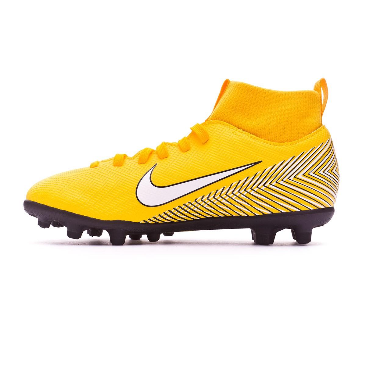 2a72b9407f11d Chuteira Nike Mercurial Superfly VI Club MG Neymar Crianças Yellow-Black -  Loja de futebol Fútbol Emotion
