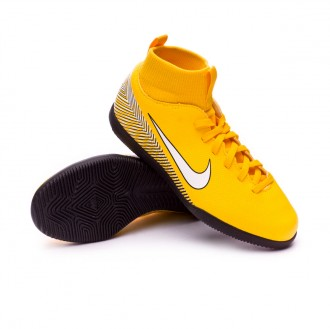 Zapatilla  Nike Mercurial SuperflyX VI Club IC Neymar Niño Yellow-Black