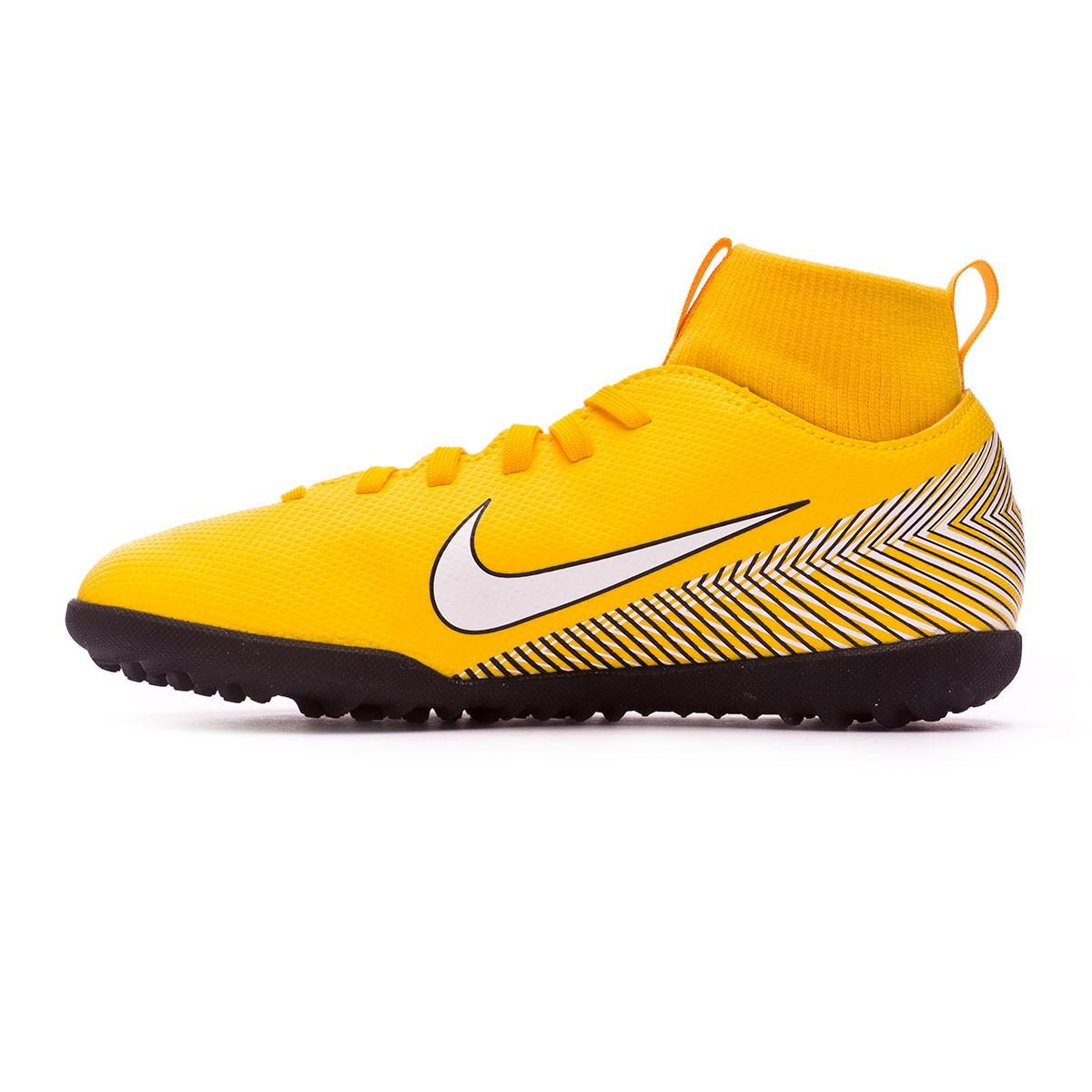 6a1fe74e2c1 Sapatilhas Nike Mercurial SuperflyX VI Club Turf Neymar Crianças  Yellow-Black - Loja de futebol Fútbol Emotion