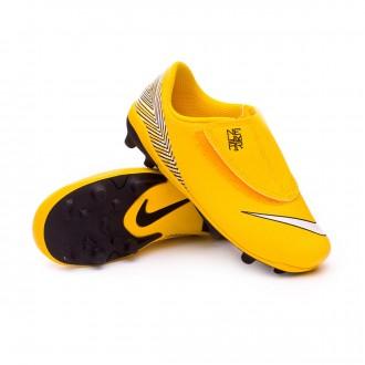 Bota  Nike Mercurial Vapor XII Club PS Velcro MG Neymar Niño Yellow-Black