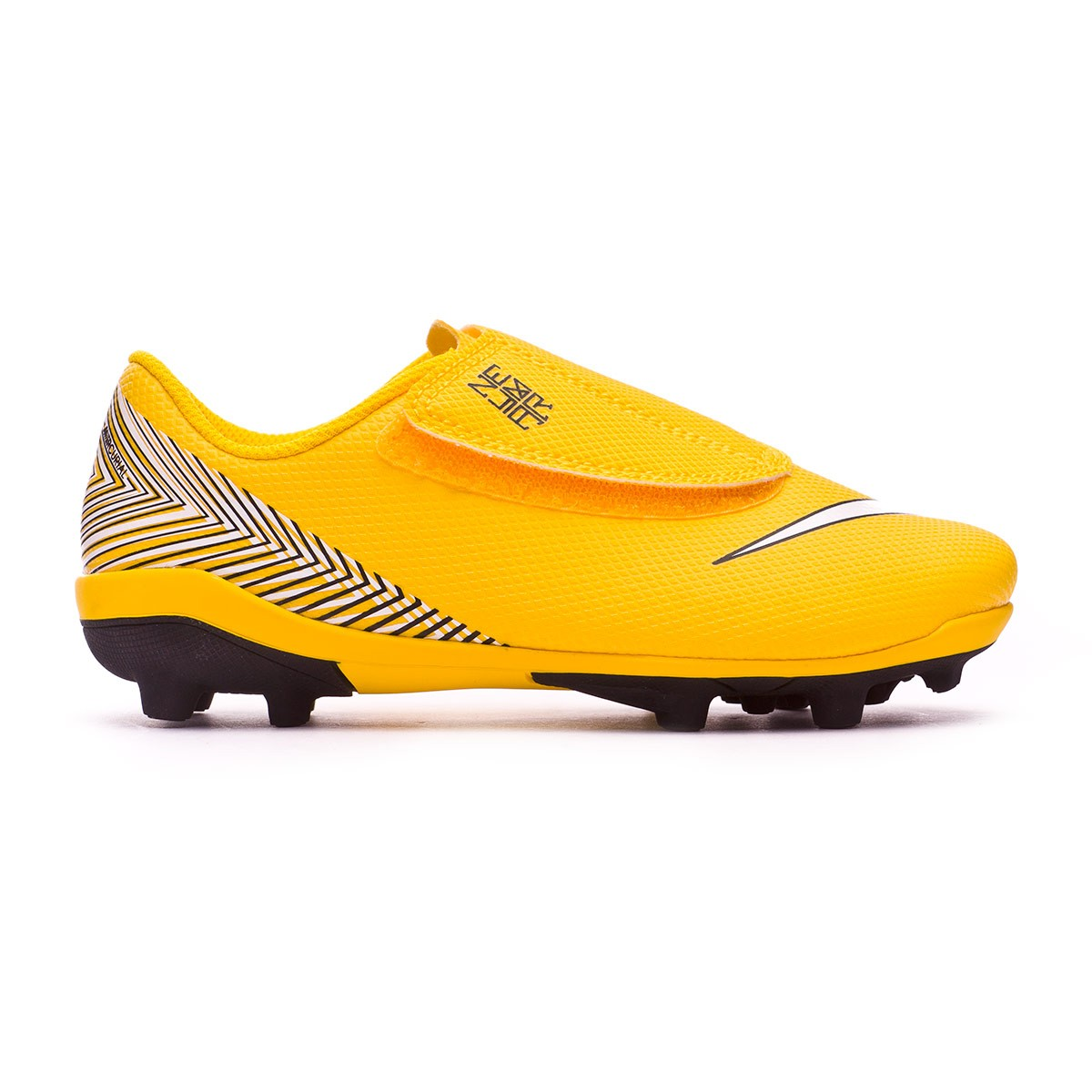 half off 8b6b8 f372d Scarpe Nike Mercurial Vapor XII Club MG Neymar Junior Yellow-Black -  Negozio di calcio Fútbol Emotion