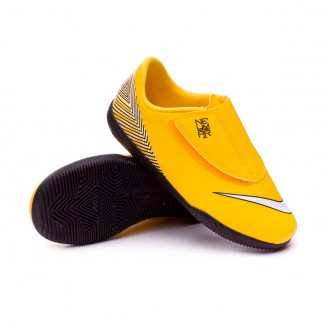Zapatilla  Nike Mercurial VaporX XII Club IC Neymar Niño Yellow-Black
