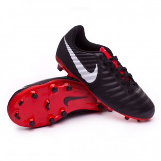 Bota  Nike Tiempo Legend VII Academy MG Niño Black-Pure platinum-Light crimson
