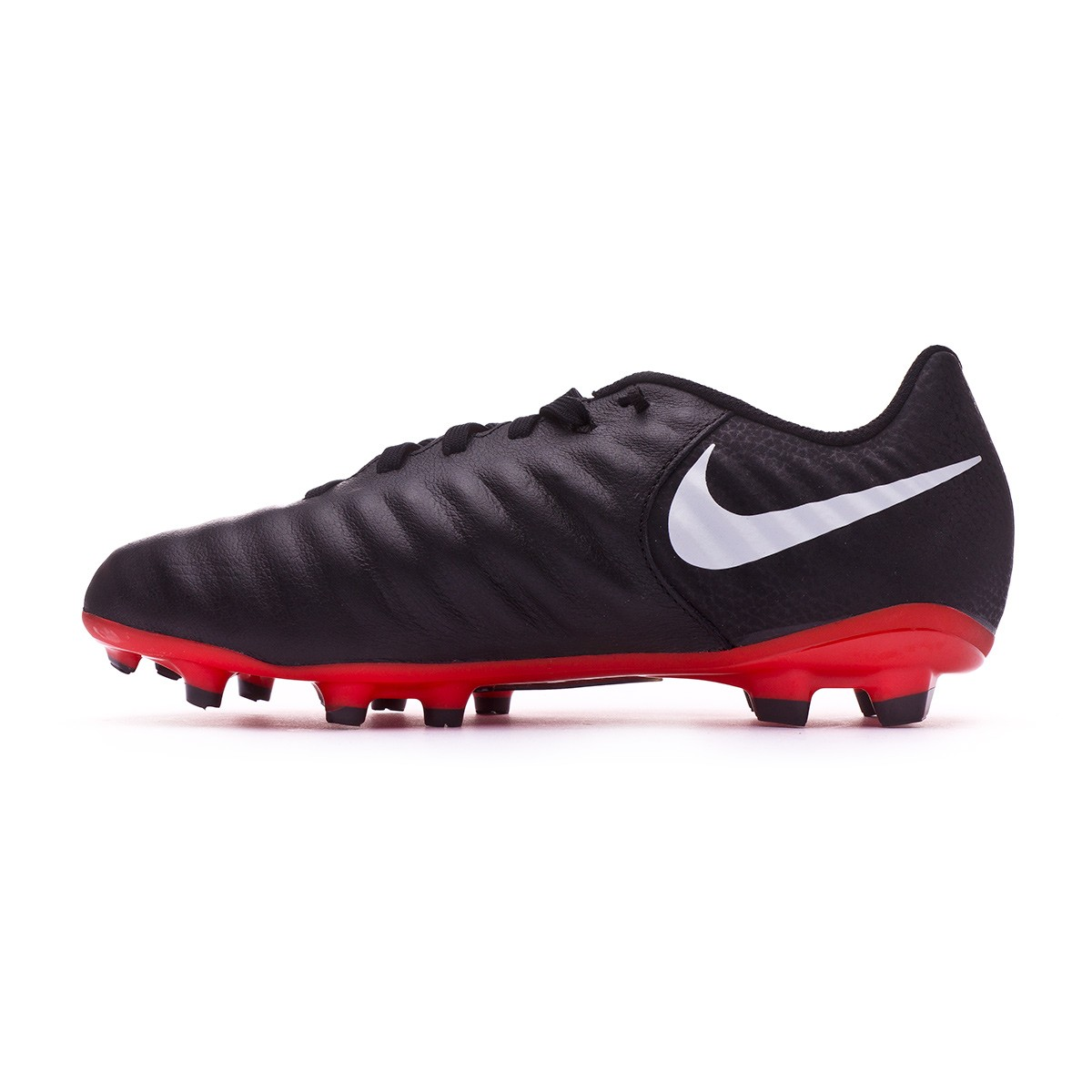 new products cf096 9a3fc Scarpe Nike Tiempo Legend VII Academy MG Junior Black-Pure platinum-Light  crimson - Negozio di calcio Fútbol Emotion