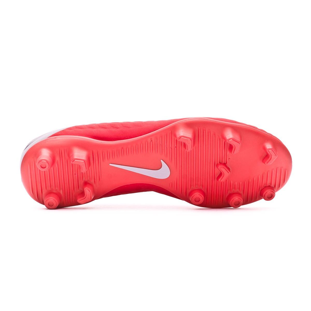 28bc537286bf Football Boots Nike Kids Hypervenom Phantom III Club FG Light crimson-Metallic  dark grey-Wolf grey - Tienda de fútbol Fútbol Emotion
