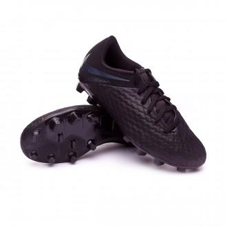 Bota  Nike Hypervenom Phantom III Academy FG Niño Black