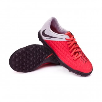 Zapatilla  Nike Hypervenom PhantomX III Club Turf Niño Light crimson-Metallic dark grey-Wolf grey