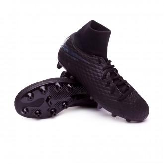 Chaussure de foot  Nike Hypervenom Phantom III Academy DF AG-Pro enfant Black