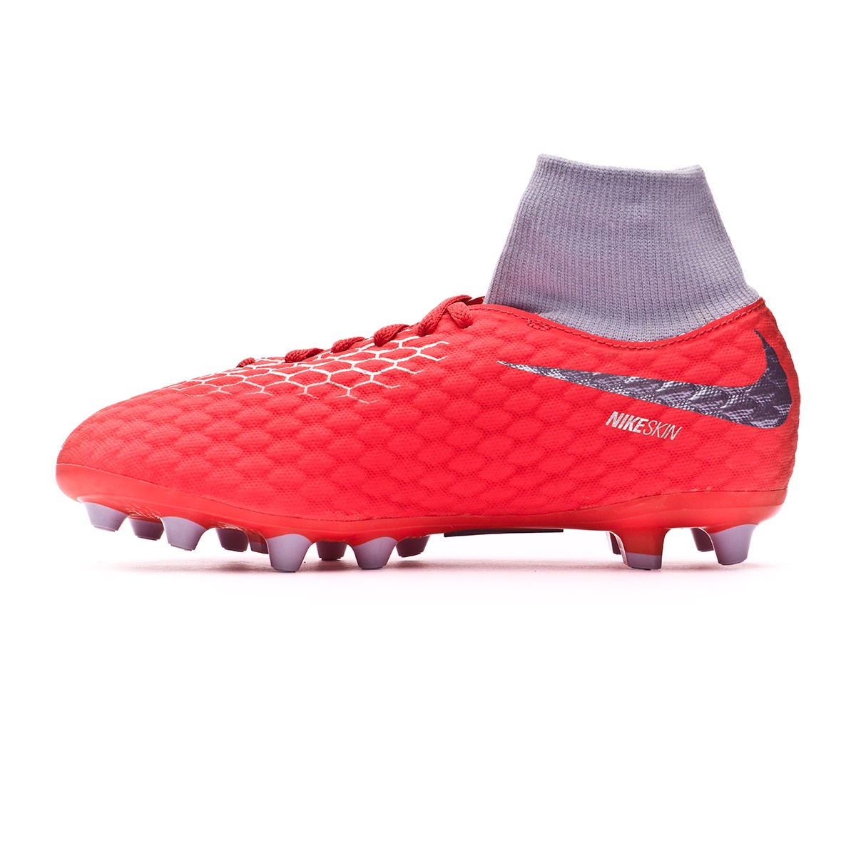 Boot Nike Hypervenom Phantom III Academy DF AG-Pro Niño Light  crimson-Metallic dark grey-Wolf grey - Leaked soccer f2912fcd13