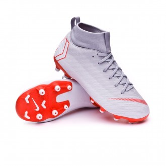 Boot  Nike Kids Mercurial Superfly VI Academy GS MG  Wolf grey-Light crimson-Pure platinum