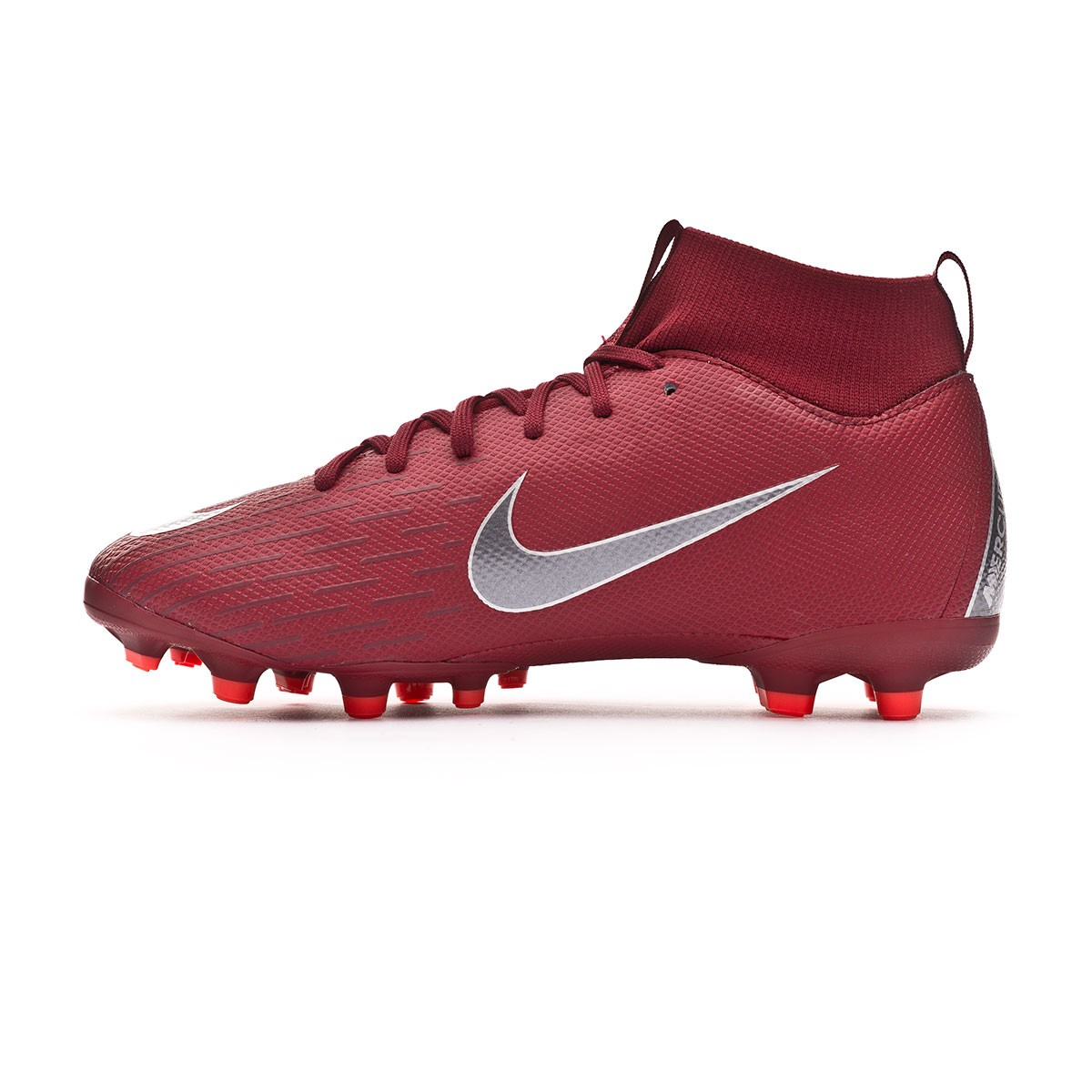 22fc864f1e Chuteira Nike Mercurial Superfly VI Academy GS MG Niño Team red-Metallic  dark grey-Bright crimson - Loja de futebol Fútbol Emotion
