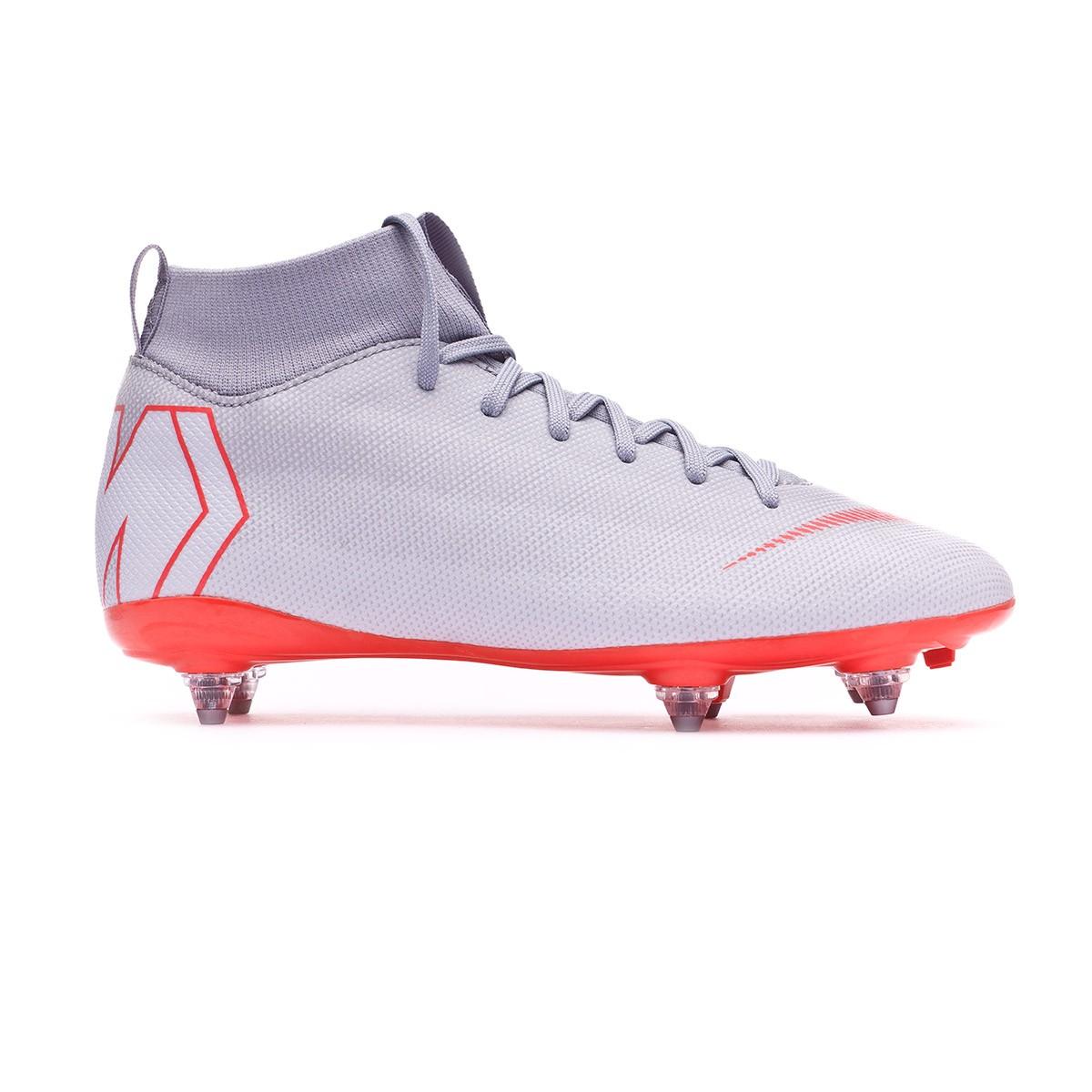 f88d3aed6 Football Boots Nike Kids Mercurial Superfly VI Academy SG-Pro Wolf  grey-Light crimson-Pure platinum - Tienda de fútbol Fútbol Emotion