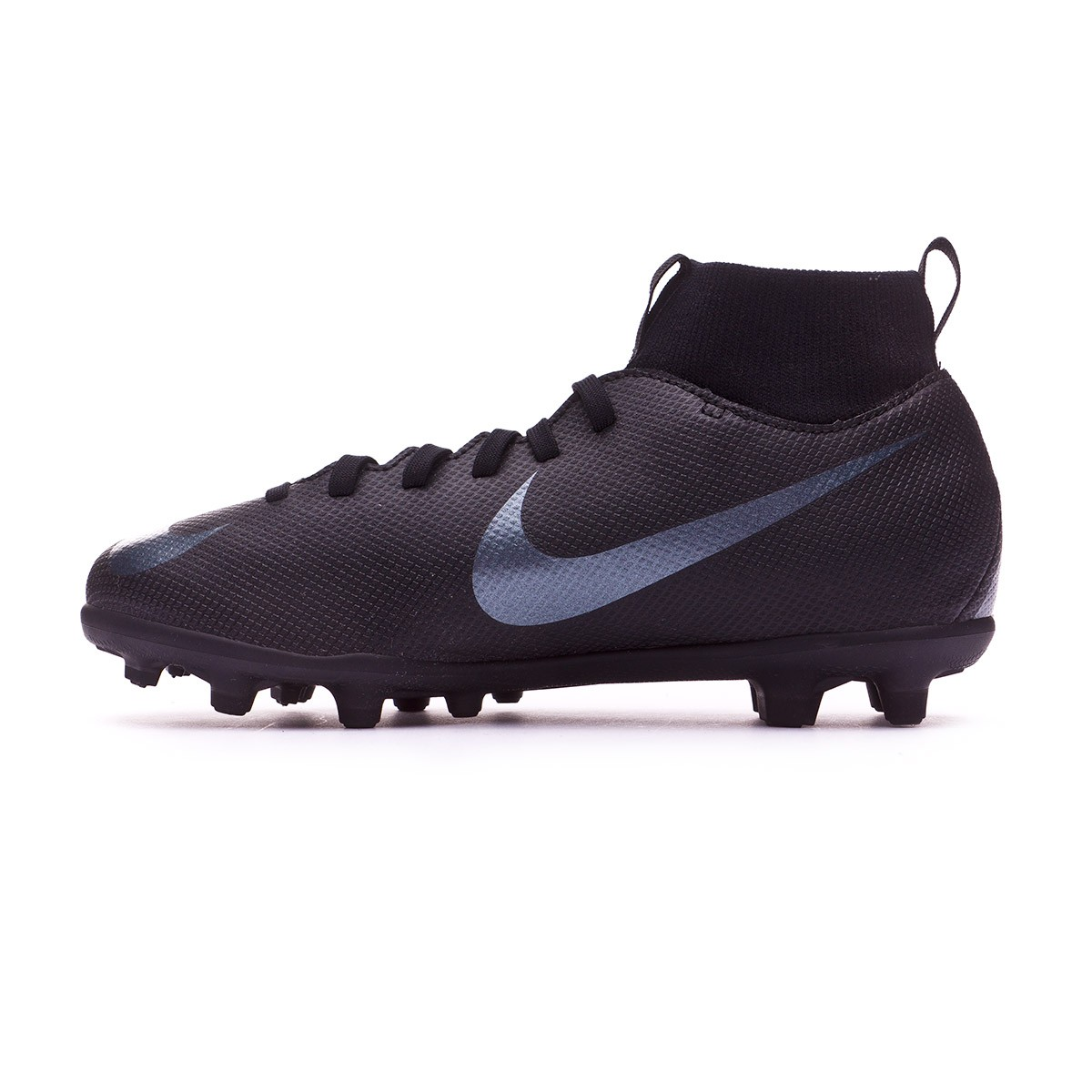 reputable site cbebd 26d79 Bota Mercurial Superfly VI Club MG Niño Black