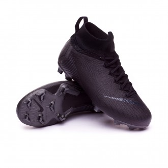 Bota  Nike Mercurial Superfly VI Elite FG Niño Black