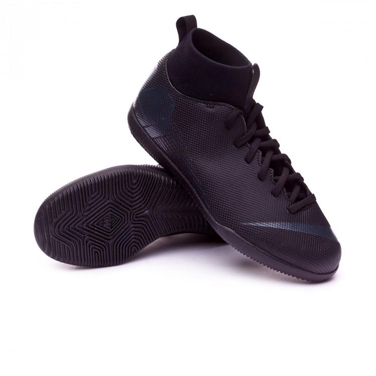 cb6f184a18ad Futsal Boot Nike Kids Mercurial Superfly VI Club IC Black - Tienda ...