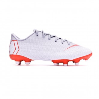 Zapatos de fútbol  Nike Mercurial Vapor XII Academy GS MG Niño Wolf grey-Light crimson-Pure platinum