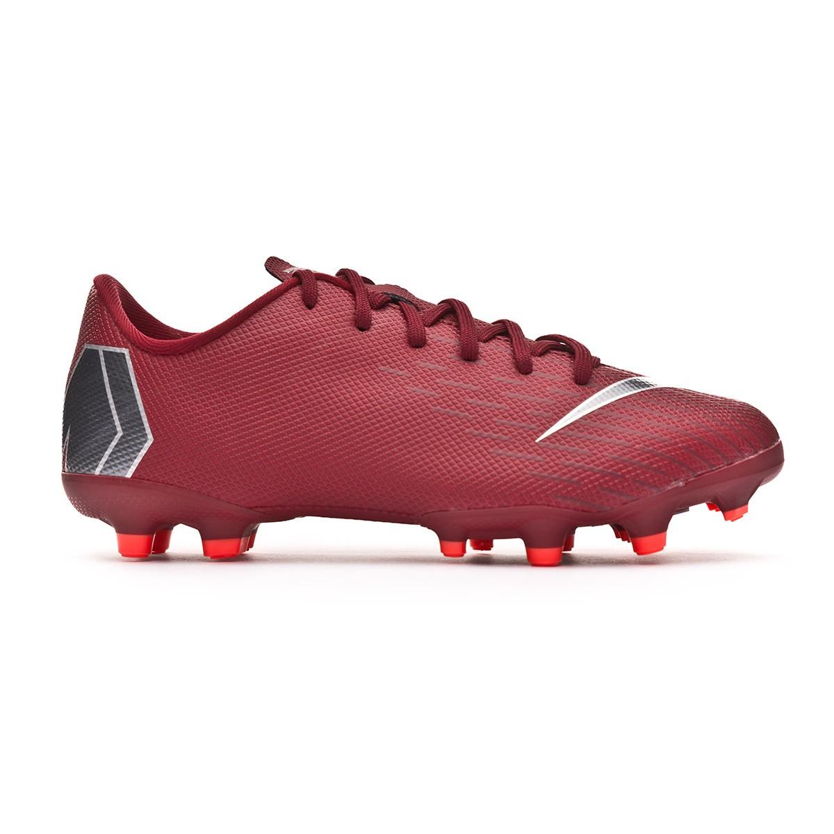 pretty nice 65f60 ce9ae Chaussure de foot Nike Mercurial Vapor XII Academy GS MG enfant Team  red-Metallic dark grey-Bright crimson - Boutique de football Fútbol Emotion