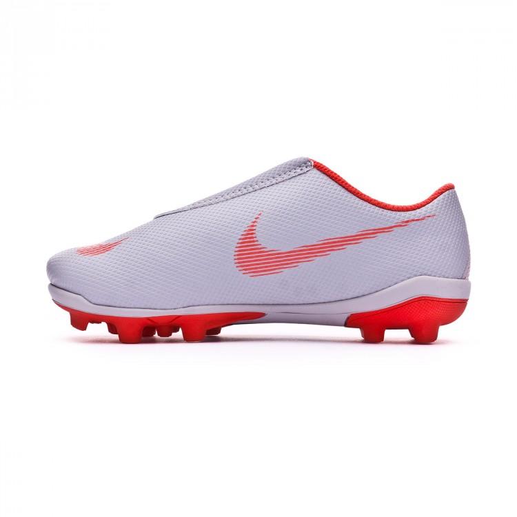 0b11353fcaf Football Boots Nike Kids Mercurial Vapor XII Club PS Velcro MG Wolf ...