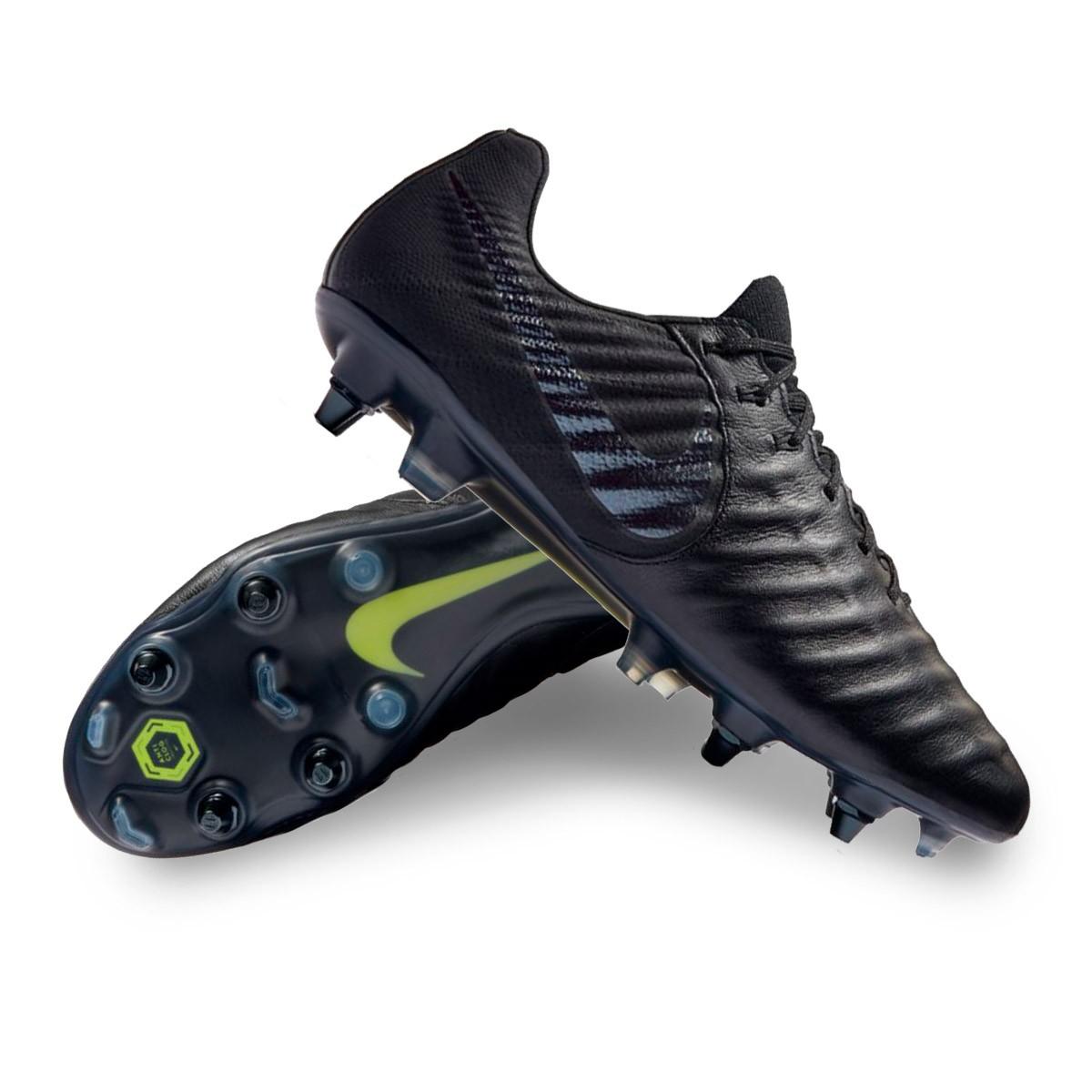 d2e54d0f1 Football Boots Nike Tiempo Legend VII Elite Anti-Clog SG-Pro Black ...