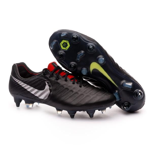 c20dbf594 Football Boots Nike Tiempo Legend VII Elite Anti-Clog SG-Pro Black-Metallic  silver-Light crimson - Tienda de fútbol Fútbol Emotion