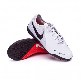 Football Boot  Nike Kids Phantom Vision Academy Turf  Pure platinum-Light crimson-White