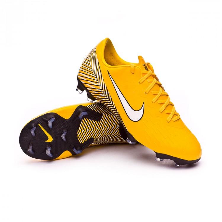 05079dcbf40ae7 Football Boots Nike Kids Mercurial Vapor XII Elite FG Neymar Yellow ...