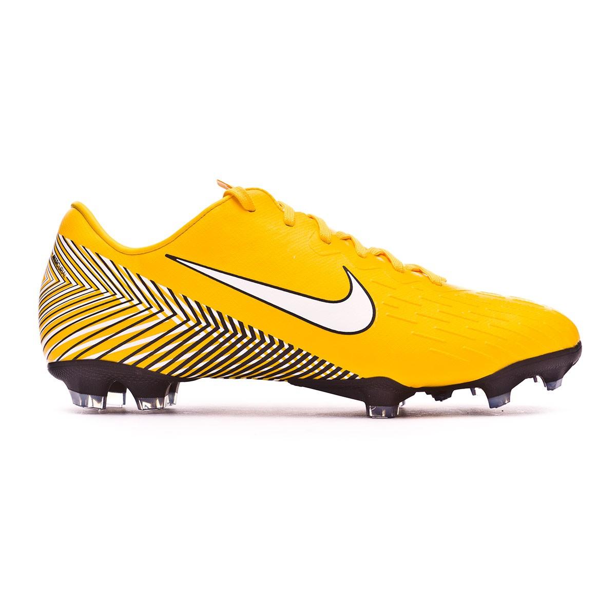 6106170ca5a5c Football Boots Nike Kids Mercurial Vapor XII Elite FG Neymar  Yellow-Black-Anthracite - Tienda de fútbol Fútbol Emotion