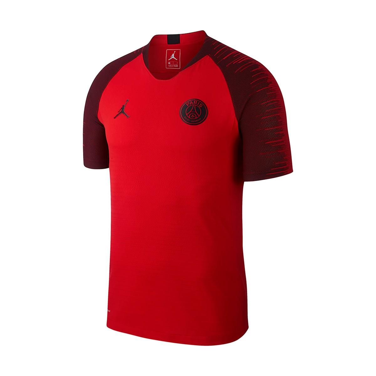 487f5be722579 Camiseta Nike Paris Saint-Germain VaporKnit Strike SS CL 2018-2019  University red-Black - Tienda de fútbol Fútbol Emotion