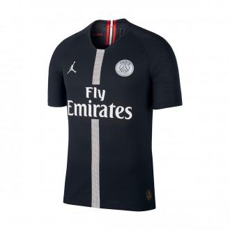 Camisola  Nike Paris Saint-Germain Vapor Tercera Equipación 2018-2019 Black-White
