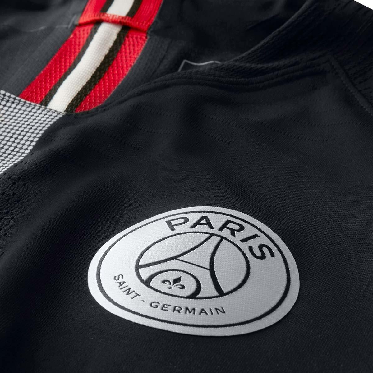 9ec7f16fe2d27 Jersey Nike Paris Saint-Germain Vapor 2018-2019 Third Black-White -  Football store Fútbol Emotion