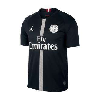 Camisola  Nike Paris Saint-Germain Stadium SS Tercera Equipación 2018-2019 Black-White