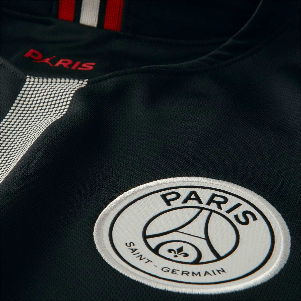 Jersey Nike Paris Saint-Germain Stadium SS Tercera Equipación 2018-2019  Black-White - Soloporteros es ahora Fútbol Emotion 7629c7ab06908